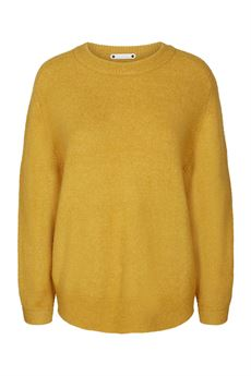 CO'COUTURE STRIK, SOUL O-NECK, MUSTARD