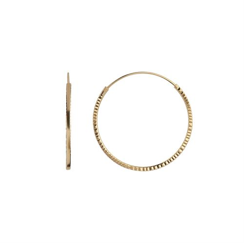 STINE A ØRERING, ETOILE CREOL EARRING GOLD