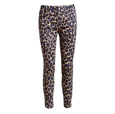 Julie animal Pant, Royal Blue, Co`Couture
