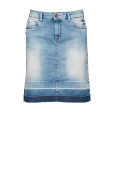Ivy skirt, Light blue denim, Pulz Jeans
