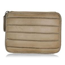 Line wallet, beige, Black Colour