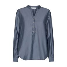 CO'COUTURE  SKJORTE, CAYLA SHIRT, ASH BLUE