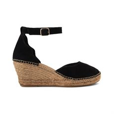 SHOE THE BEAR ESPADRILLOS, SALOME SANDAL, SORT