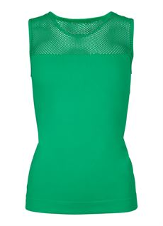TIM OG SIMONSEN TOP, MESH TOP, GREEN
