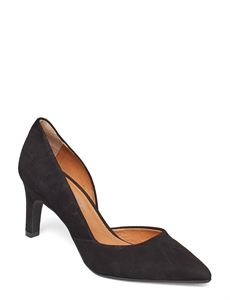 RE:DESIGNED STILETTO, SALANA SUEDE, BLACK