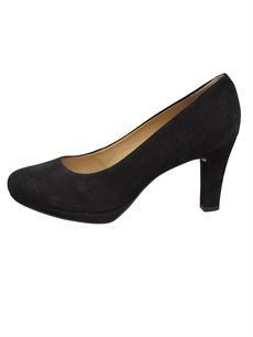 TIM & SIMONSEN PUMPS, PATTI PUMPS, NUBUCK BLACK