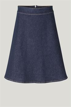 JUST FEMALE NEDERDEL, WINNIE SKIRT, DARK DENIM